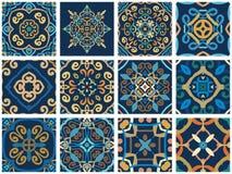 Arabische decoratieve tegels Royalty-vrije Stock Afbeelding