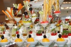 Arabische dessert, koekjes en drank Stock Afbeeldingen