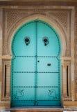 Arabische deur Royalty-vrije Stock Foto