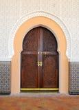 Arabische deur Stock Foto's