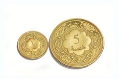 Arabische dinar Stock Foto's