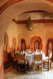 Arabische dinning zaal Stock Afbeeldingen