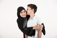 Arabische Familie Lizenzfreie Stockfotografie