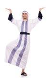 Arabische geïsoleerdeo mens Stock Afbeelding