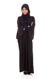 Arabische gekruiste vrouwenwapens stock foto