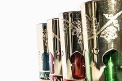 Arabische Gläser lizenzfreie stockbilder