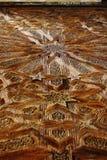 Arabische gravures in het hout Royalty-vrije Stock Fotografie