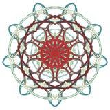 Arabische Kleurrijke Mandala Etnische stammenornamenten Stock Afbeelding
