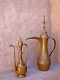 Arabische koffiepot Stock Foto's