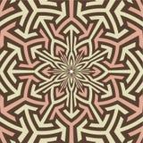 Arabische Kunst spornte vektormuster an. Lizenzfreie Stockbilder