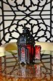 Arabische Lantaarns Stock Foto's