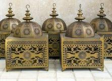 Arabische Lantaarns stock foto