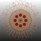 Arabische Mandala stockfotografie