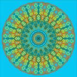 Arabische Mandala stock abbildung