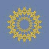 Arabische Mandala lizenzfreie abbildung