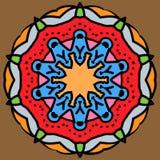 Arabische Mandala stockfotos
