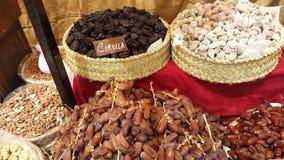 Arabische Markten Ibiza Spanje Stock Fotografie