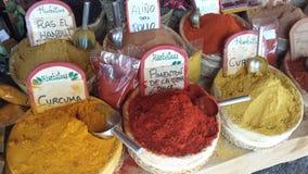 Arabische Markten Ibiza Spanje Royalty-vrije Stock Afbeeldingen