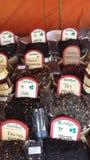 Arabische Markten Ibiza Spanje Stock Foto's