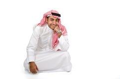 Arabische mens stock afbeelding