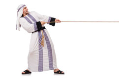 Arabische mens Royalty-vrije Stock Afbeelding