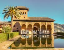 Arabische motieven en stractures in Andalusia royalty-vrije stock afbeeldingen