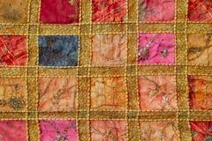 Arabische multicolored sjaals stock afbeelding