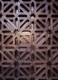 Arabische Musterbeschaffenheit an der Moschee Cordoba Stockfotos