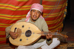 Arabische muziek Stock Foto's