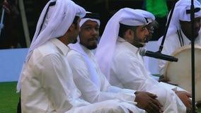 Arabische muziekband stock footage