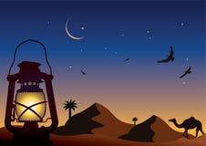 Arabische nacht royalty-vrije illustratie