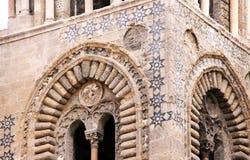 Arabische Normandische architectuur, van Palermo Stock Afbeelding