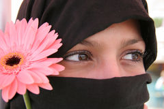 Arabische ogen Stock Afbeeldingen