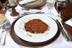 Arabische Pastei stock foto's