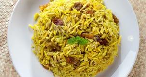 Arabische rijst videolengte