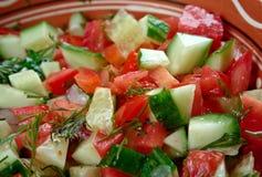 Arabische salade Stock Afbeeldingen