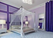 Arabische slaapkamer Royalty-vrije Stock Afbeelding