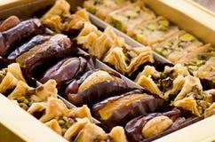 Arabische snoepjes stock foto's