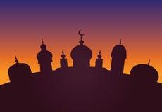 Arabische stad Royalty-vrije Stock Afbeelding