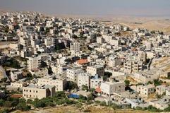 Arabische stad. Israël. Stock Afbeeldingen