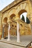 Arabische Stadt von Medina Azahara, Cordoba, Andalusien, Spanien Lizenzfreie Stockbilder