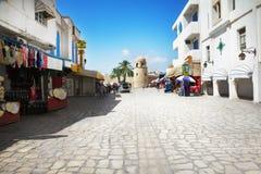 Arabische Straße lizenzfreie stockfotografie