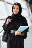 Arabische student royalty-vrije stock foto's