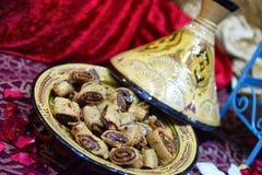 Arabische türkische jüdische Bonbons Mittleren Ostens stockfotos