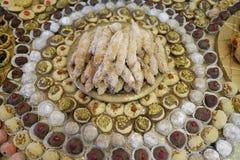 Arabische türkische jüdische Bonbons Mittleren Ostens lizenzfreie stockfotografie