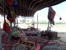 Arabische tent doubai stock afbeeldingen