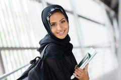 Arabische universitaire student royalty-vrije stock afbeeldingen