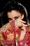 Arabische vrouw Stock Afbeelding