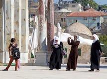 Arabische vrouwen Stock Afbeeldingen