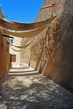 Arabische weg Royalty-vrije Stock Foto's
